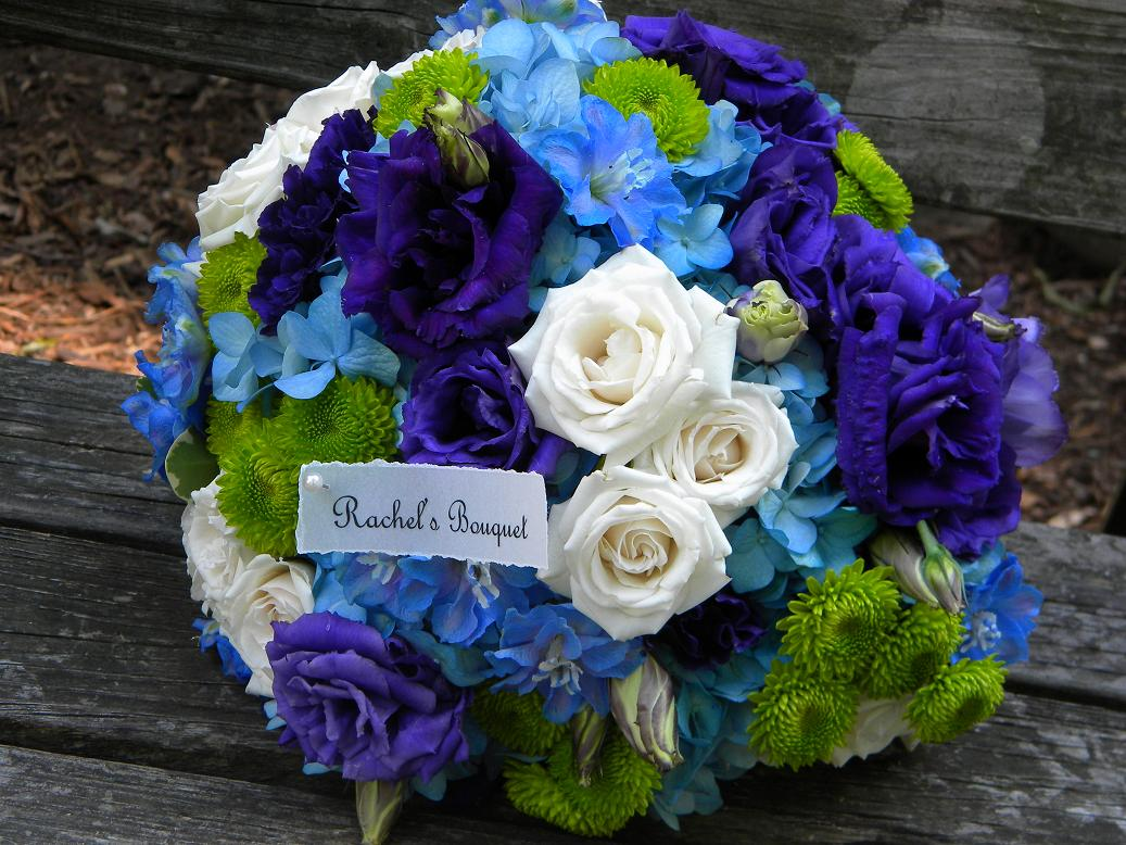Blue Flowers For Wedding 23 Desktop Background Hdflowerwallpaper