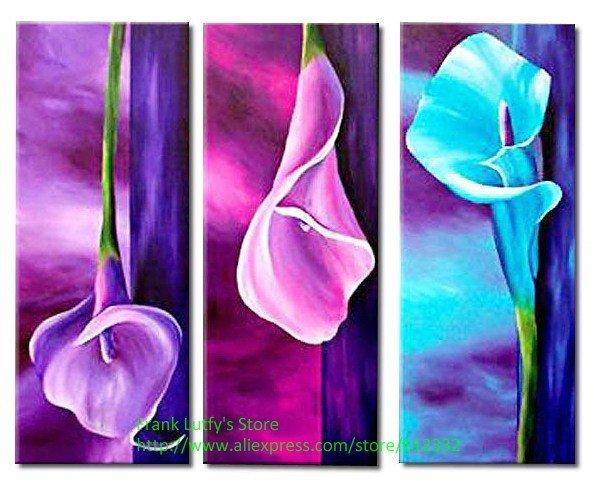 Green Flowers Canvas HD Wallpaper